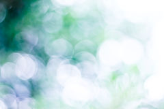 Abstract Bokeh. Image on blue and green space royalty free stock photography