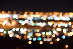 Abstract bokeh Stock Image