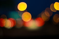 Abstract of bokeh background Royalty Free Stock Images