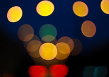 Abstract of bokeh background Royalty Free Stock Image
