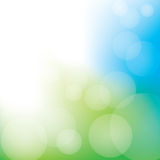 Abstract Bokeh Background. Blue and green abstract bokeh background Royalty Free Stock Images