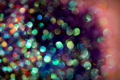 Abstract bokeh background in blue and green Stock Images