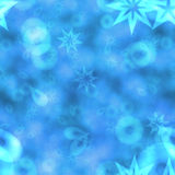 Abstract bokeh background in blue spectrum Royalty Free Stock Photos