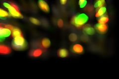 Abstract bokeh background, bokeh background, blurred lights, colorful bokeh illustration. Blurred dust, blurred lights stock images