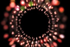 Abstract bokeh background, bokeh overlay, blurred lights, colorful bokeh illustration royalty free stock photography