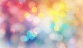 Abstract bokeh background. Stock Image