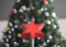 Abstract bokeh background. Christmas bokeh lights defocused abst Royalty Free Stock Image