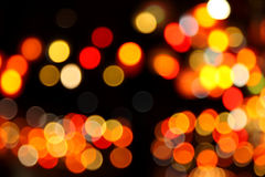 Abstract bokeh background of Christmaslight Royalty Free Stock Image