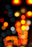 Abstract bokeh background of Christmaslight Stock Photos