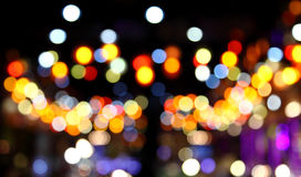 Abstract bokeh background of Christmaslight Royalty Free Stock Photos