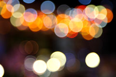 Abstract bokeh background of Christmaslight Royalty Free Stock Photography
