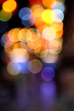 Abstract bokeh background of Christmaslight Stock Image