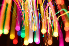 abstract  bokeh background colorful lights effects Royalty Free Stock Image