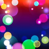 Abstract bokeh background vector illustration