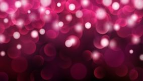 Abstract bokeh background. Abstract dark background with bokeh effects in pink colors vector illustration