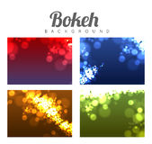 Abstract bokeh background Royalty Free Stock Photo
