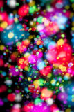 Abstract bokeh background design Royalty Free Stock Image