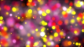 Abstract bokeh background. Digital backdrop. 3d render Royalty Free Stock Images