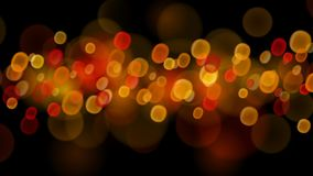 Abstract bokeh background. Abstract background with bokeh effects in red and orange colors Royalty Free Stock Images