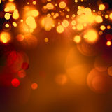 Abstract bokeh background. Festive Christmas abstract bokeh background, shining lights, holiday sparkling atmosphere, celebration ambient Stock Photography