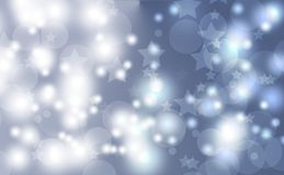 Abstract bokeh background. Festive defocused lights.Vector illustration. Abstract bokeh background. Festive defocused lights Stock Photo