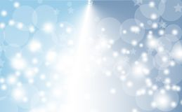 Abstract bokeh background. Festive defocused lights.Vector illustration Stock Image