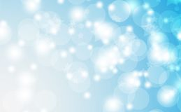 Abstract bokeh background. Festive defocused lights.Vector illustration Stock Photo
