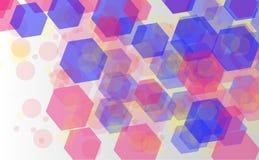 Abstract bokeh background. Festive defocused lights.Vector. Illustration Stock Photos
