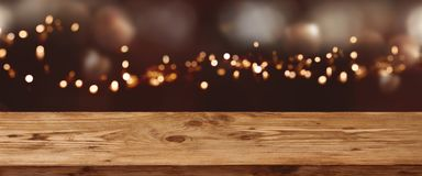 Abstract bokeh background for festive christmas royalty free stock images