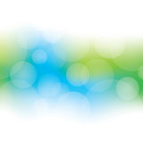 Abstract Bokeh Background. A green and blue bokeh background Royalty Free Stock Photography