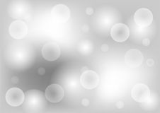 Abstract bokeh background. Abstract bokeh background in grey color. Vector design Royalty Free Stock Image