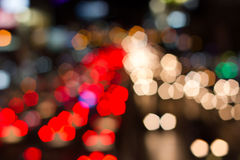 Abstract bokeh background of holiday light, blur, abstract Royalty Free Stock Photo