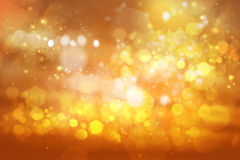 Abstract bokeh background of holiday lights Royalty Free Stock Photos