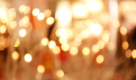 light bokeh abstract background Stock Photography