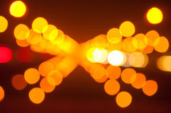 Abstract Bokeh background from light Royalty Free Stock Image
