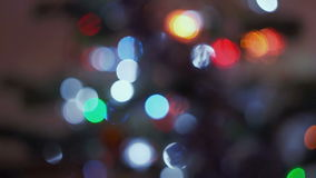 Abstract bokeh background stock footage