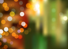 Abstract bokeh background at night Stock Photography