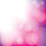 Abstract Bokeh Background. Pink and purple abstract bokeh background Stock Image