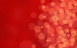 Abstract bokeh background in red Royalty Free Stock Images