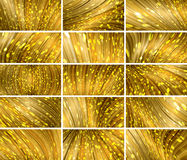 Abstract bokeh background set Royalty Free Stock Image