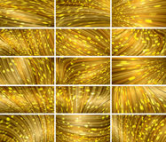 Abstract bokeh background set Stock Image