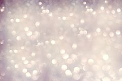 Abstract bokeh background, shining lights. Holiday sparkling atmosphere, celebration ambient Vector Illustration