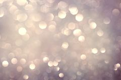 Abstract bokeh background, shining lights. Holiday sparkling atmosphere, celebration ambient Royalty Free Illustration