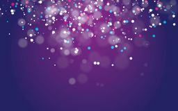 Abstract bokeh background vector. futuristic background vector design. abstract light concept vector illustration