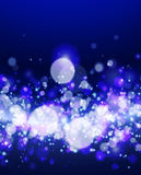 Abstract bokeh background. Vector illustration Stock Photo