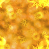 Abstract bokeh background in yellow spectrum Stock Photos