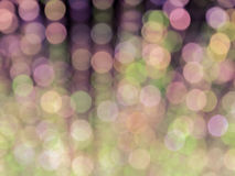 Abstract bokeh blurred color light background Stock Photo