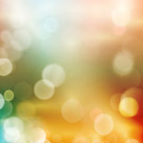Abstract bokeh blurry light dot background Royalty Free Stock Photography