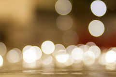Abstract bokeh Christmas light background Stock Image