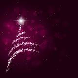 Abstract Bokeh Christmas Tree Stock Photos